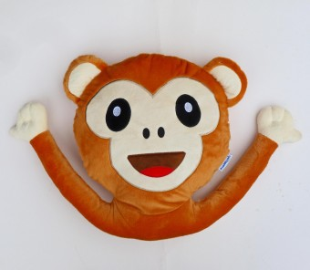 Monkey Pillow Ape Smiley Chat Icon App Shop