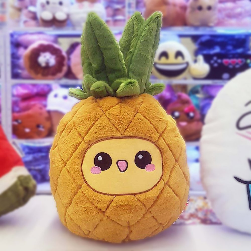 Pineapple Emoticon Pillow Cushion Fruit