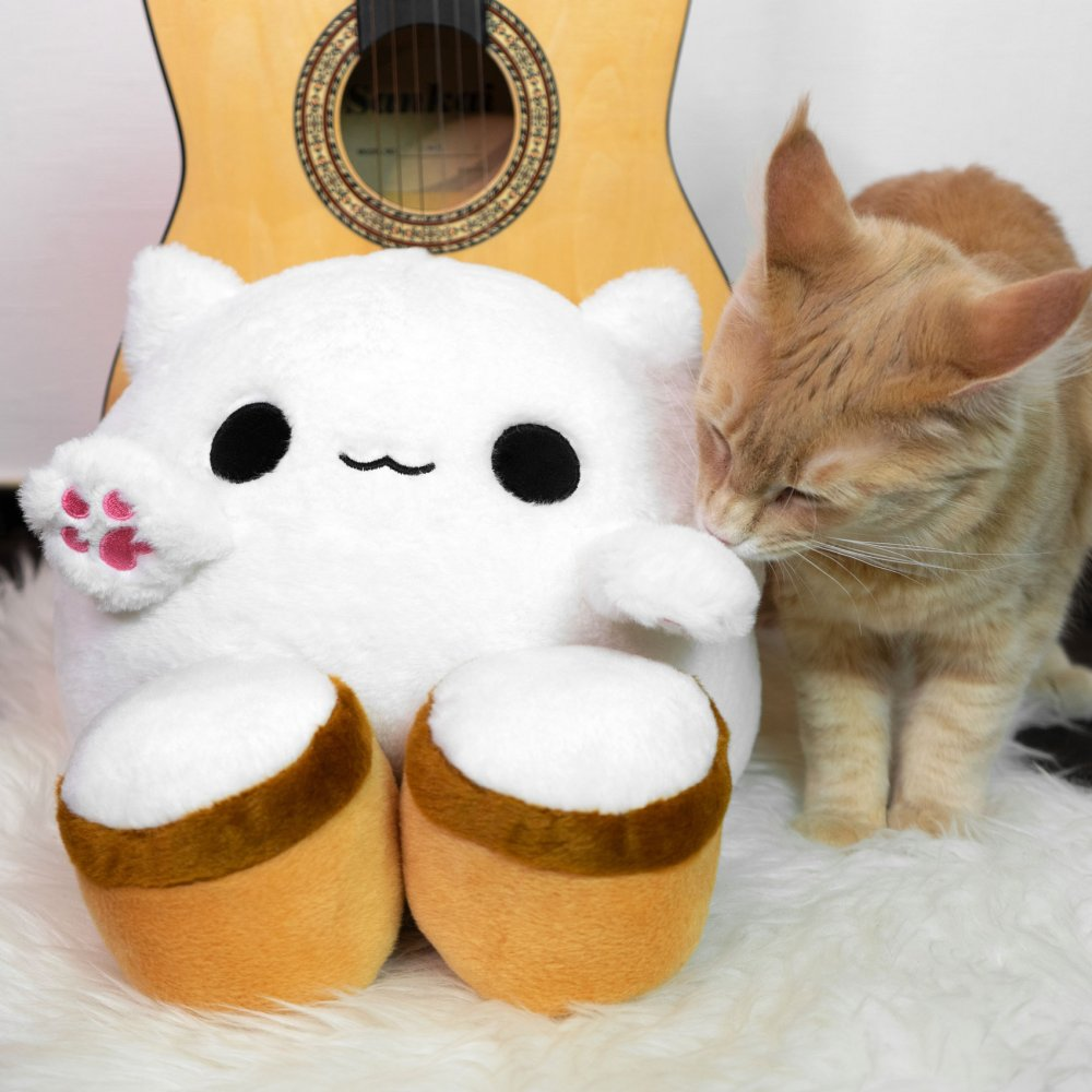 Bongo Cat Plush Toy Cat Meme
