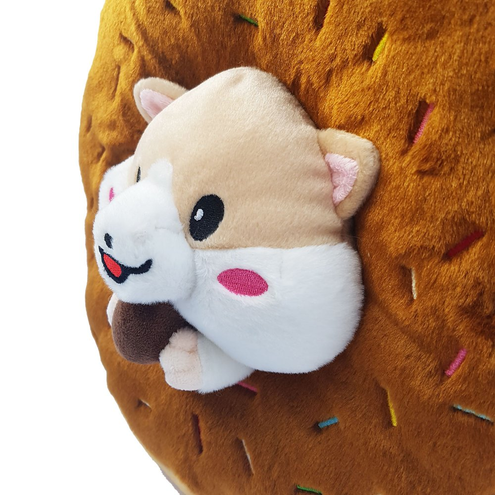 Donut Hamster Plush Toy Pillow Emoticon Cushion Shop