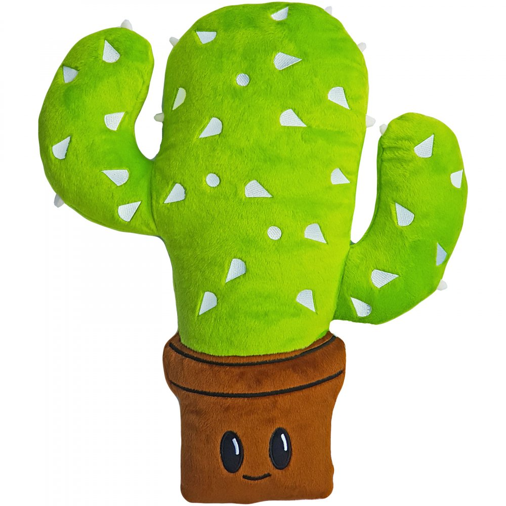 Cactus Emoticon Pillow Smiley Flowerpot Epicstun