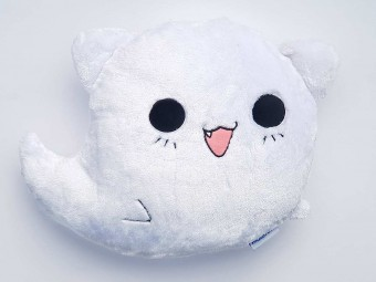 Ghost Cat Kissen Smiley Shop Katze Kitty Anime Manga Sho