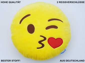Kiss Pillow Kissing Smiley Emoticon Cushion Mobile Chat Messenger