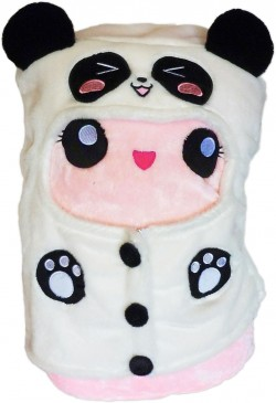 Marshi Mimi Panda Hoodie Chosen Vowels Marshmallow Cushion Plush Manga Cosplay Shop
