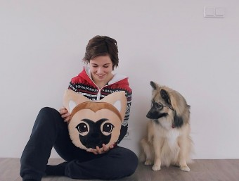 Melina Sophie Shop Godi Dog Pillow