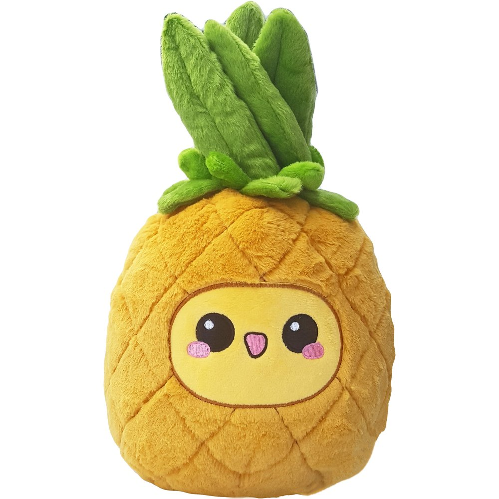 Pineapple Emoticon Smiley Plush Toy