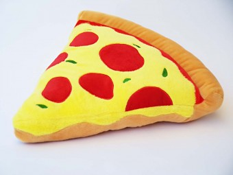 Pizza Pillow Emoticon Icon Pizza Slice
