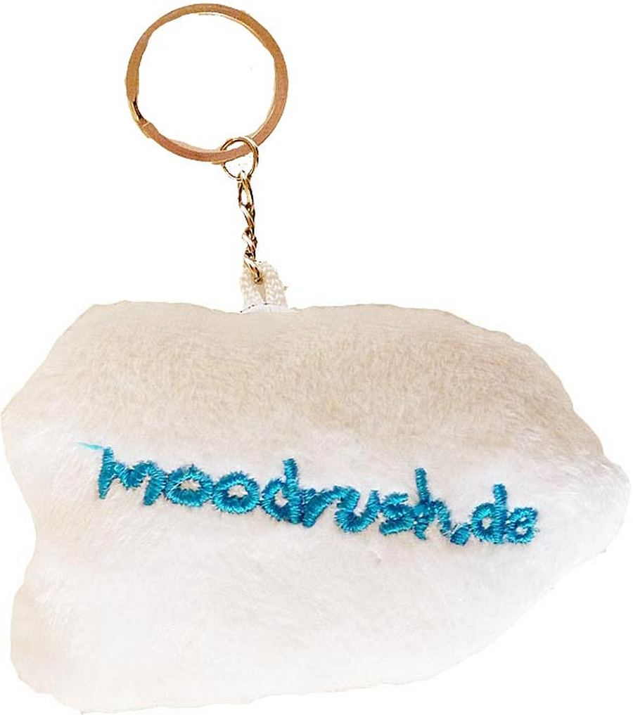 Moodrush troll face rage guy comic keychain plush cover mobile ring