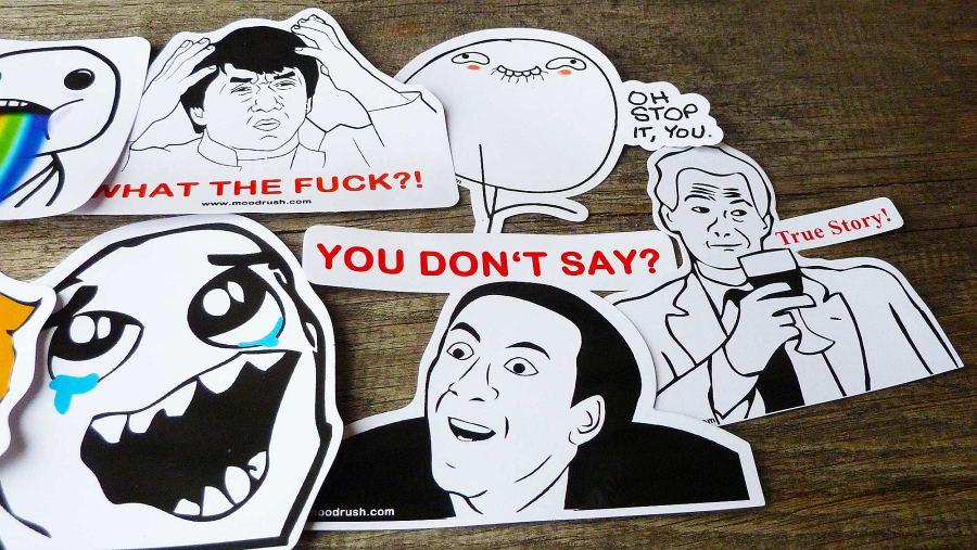 Rage Face Comics Sticker Meme Decals Smiley Emoticon Emoji Sticker    You Dont Say Meme Face