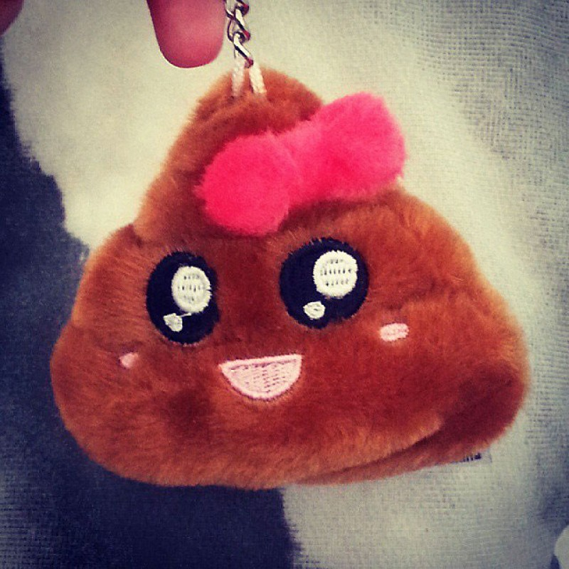 Baby Poop Pillow Plush Keychain Poo Shit Pillow