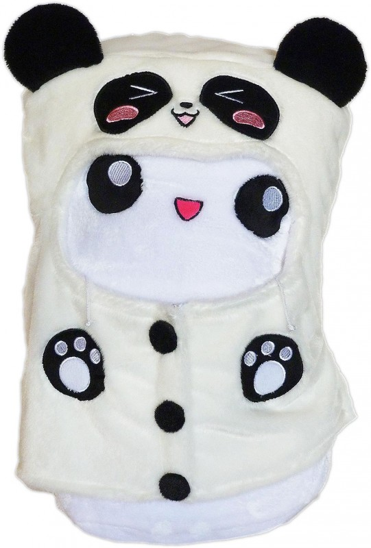 Marshi Mike Panda Hoodie Chosen Vowels Marshmallow Cushion Plush Manga Cosplay Shop