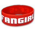 FANGIRL Silicone Wristband Memes Trollfacve Forever Alone Badass Fap Me Gusta