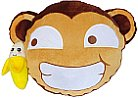 Monkey Banana Plush Pillow Gorilla Cushion Smiley Shop