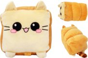 Toast Cat Bread Kitty Plush Toy