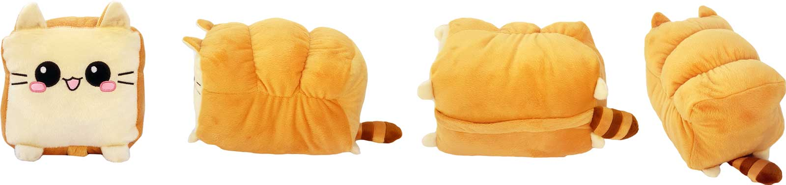 Toast Cat Plush Pillow Toy Cushion